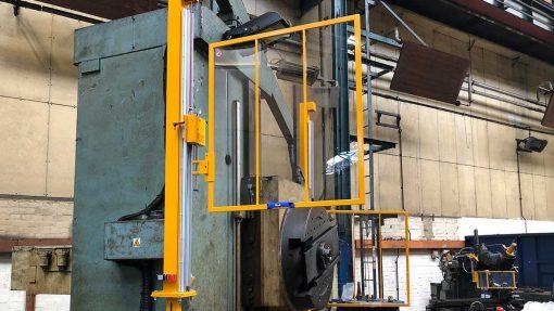 Repar2 AL Boring Machine Guarding 10