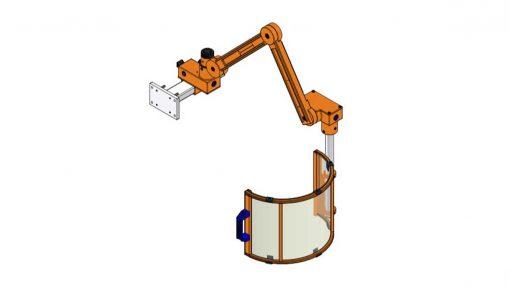 Milling Machine Arm Guard