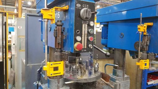 Repar2 TR2SP Drilling Machine Guarding 2