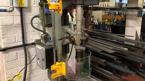 Repar2 TR2SP Drilling Machine Guarding 3