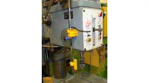 Repar2 TR3A Drilling Machine Guarding 3
