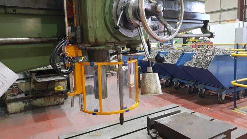 drilling machine safety guard