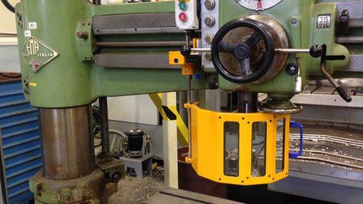 machine guard for ema radial drill