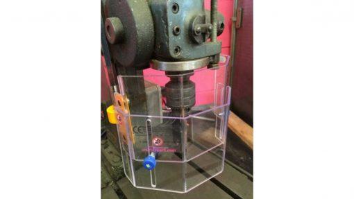 adjustable drill guard screen