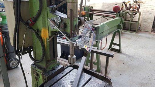 Repar2 TR9 Drilling Machine Guarding 13
