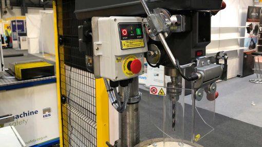 Repar2 TR9 Drilling Machine Guarding 16