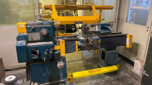 lathe/turning machine guards