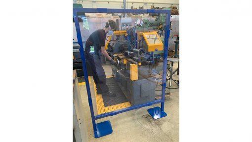 machine safety screen
