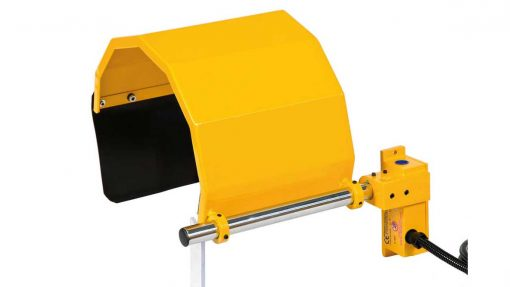 heavy duty chuck guard for lathes