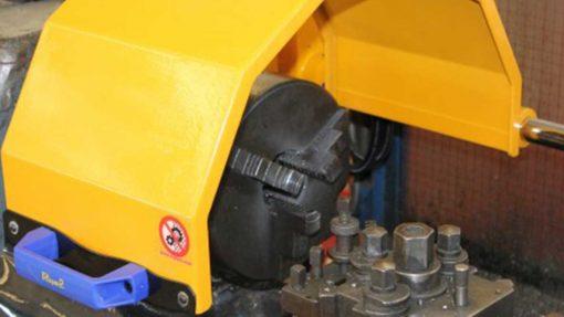 PUWER Machinery Guarding TFM interlocked chuck guard