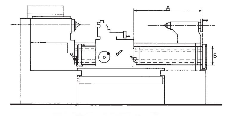 Repar2 AR Lathe Roller Units Dimensions
