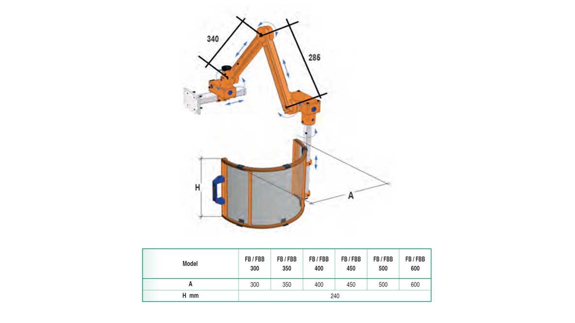 Repar2 FB Milling Machine Guard Drawing 1
