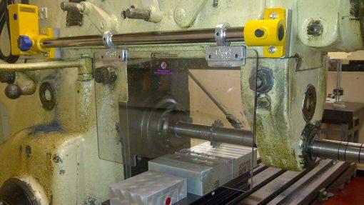 Repar2 FR interlocked milling machine guard