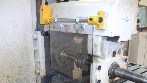 polycarbonate milling machine guard