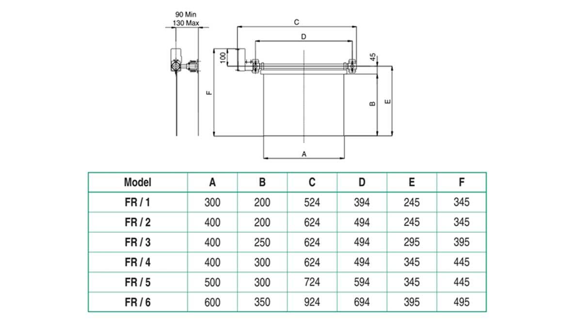 Repar2 FR Milling Machine Guard Drawing