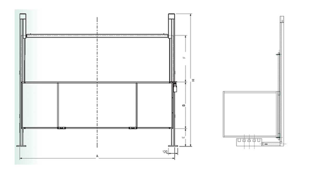 Repar2 FV Milling Machine Guard Drawing