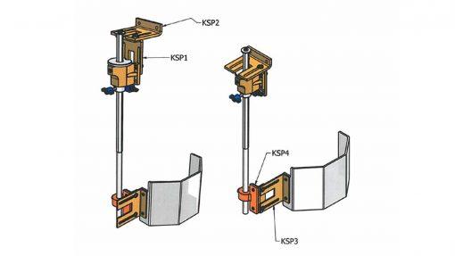 Repar2 KSPT Drilling Machine Guard Brackets 1