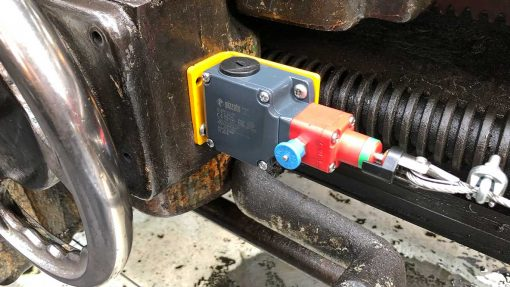 safety stop for lathes