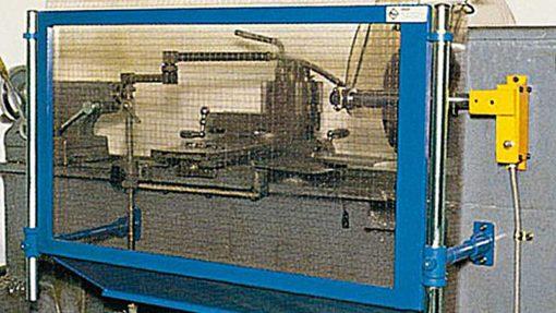 turning machine rear guard