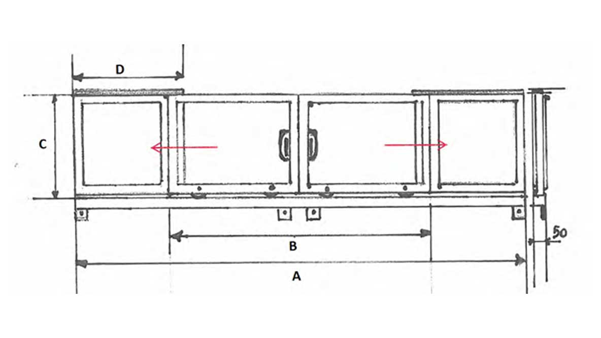 Repar2 TA SLY Surface Grinder Guard Drawing