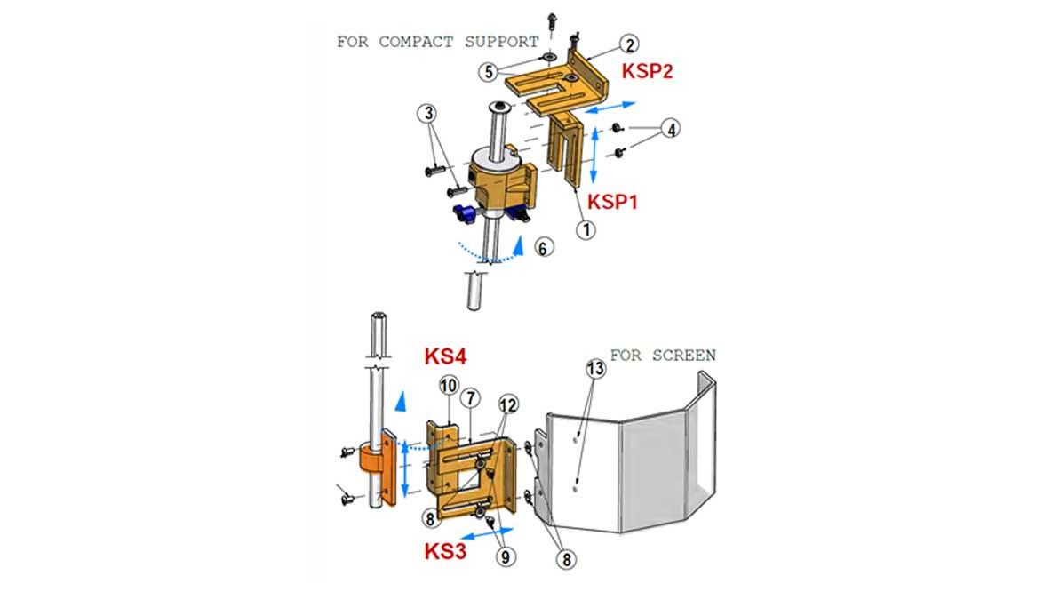 Repar2 TR2SP Drilling Machine Guarding Drawing