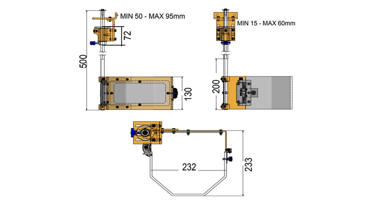Repar2 TR2T Drilling Machine Guarding Drawing