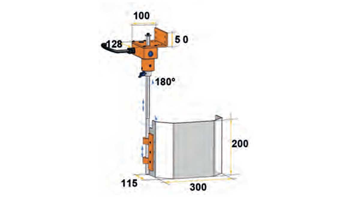 Repar2 TR3A Drilling Machine Guarding Drawing