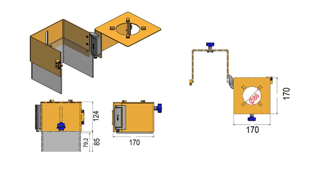 Repar2 TRT Milling Drilling Machine Guard Drawing