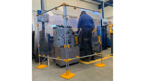 moveable clear screens