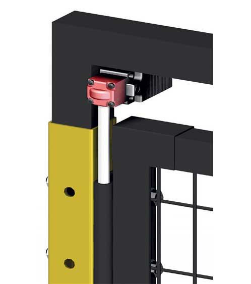 Micro kit for hinged doors