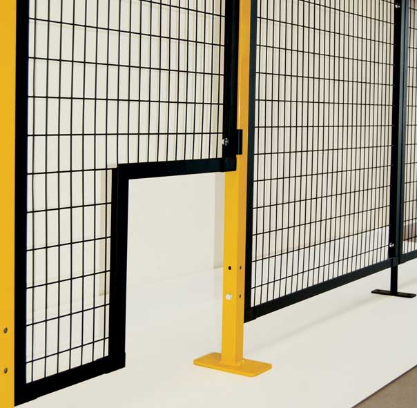 custom panels for novatek perimeter guarding