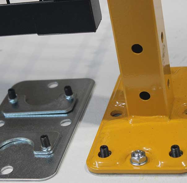 Levelling kit for Novatek perimeter guarding