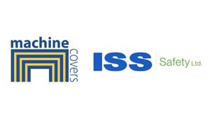 Machine Covers and ISS Safety Logo